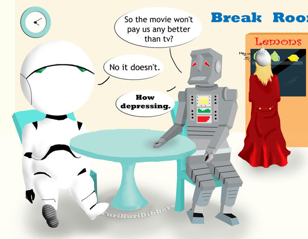 Marvin The Paranoid Android Quotes Quotesgram