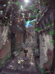 Alley in the Memory by TysonTan