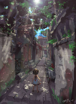 Alley in the Memory