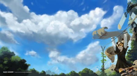 Under the Sky by TysonTan