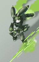 SYNC: Verdaz the Robot Rabbit by TysonTan