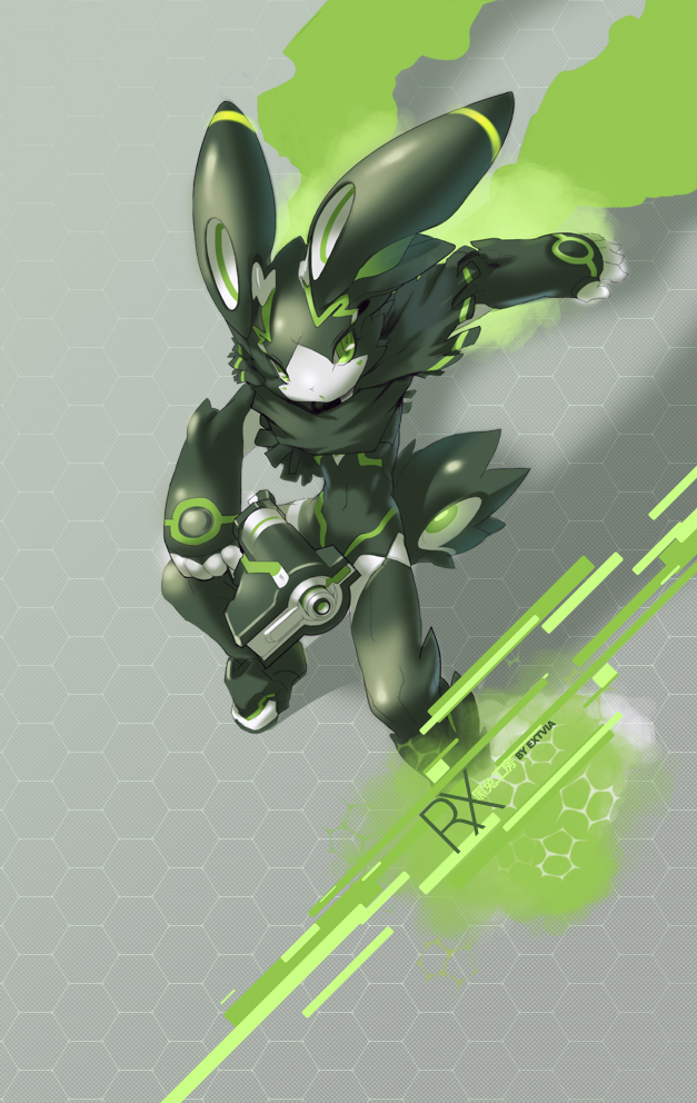 Sync Verdaz The Robot Rabbit By Tysontan On Deviantart