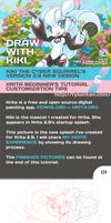Krita Free Painting App Tutorial by TysonTan