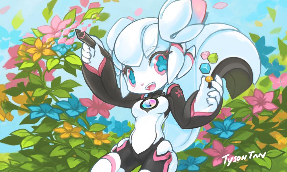 Character Design Krita : Blooming by tysontan on deviantart