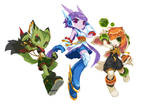 Freedom Planet 2 Girls ver 2