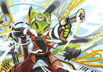 Freedom Planet 2 art experiment of Cory