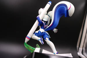 Kiki's plastic model - Low angle rear view