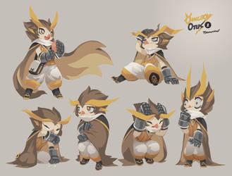 Owlboy Otus Expression Study 01 by TysonTan