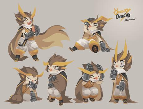 Owlboy Otus Expression Study 01