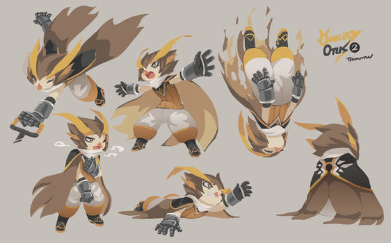 Owlboy Otus Expression Study 02