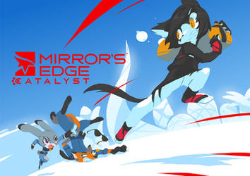 Mirrors Edge Catalyst of Zootopia by TysonTan