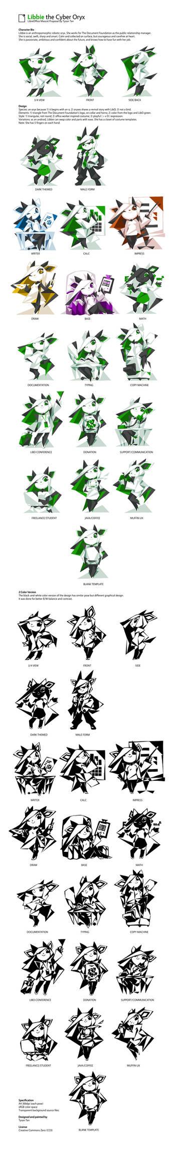 Libbie the Cyber Oryx