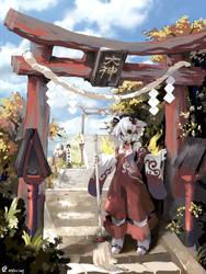 Okami Hill Autumn by TysonTan