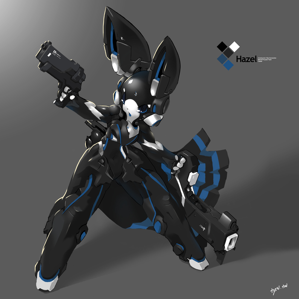 SYNC: Azure the Robot Rabbit