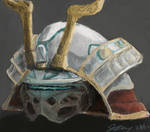 SCI FI Samurai Helmet