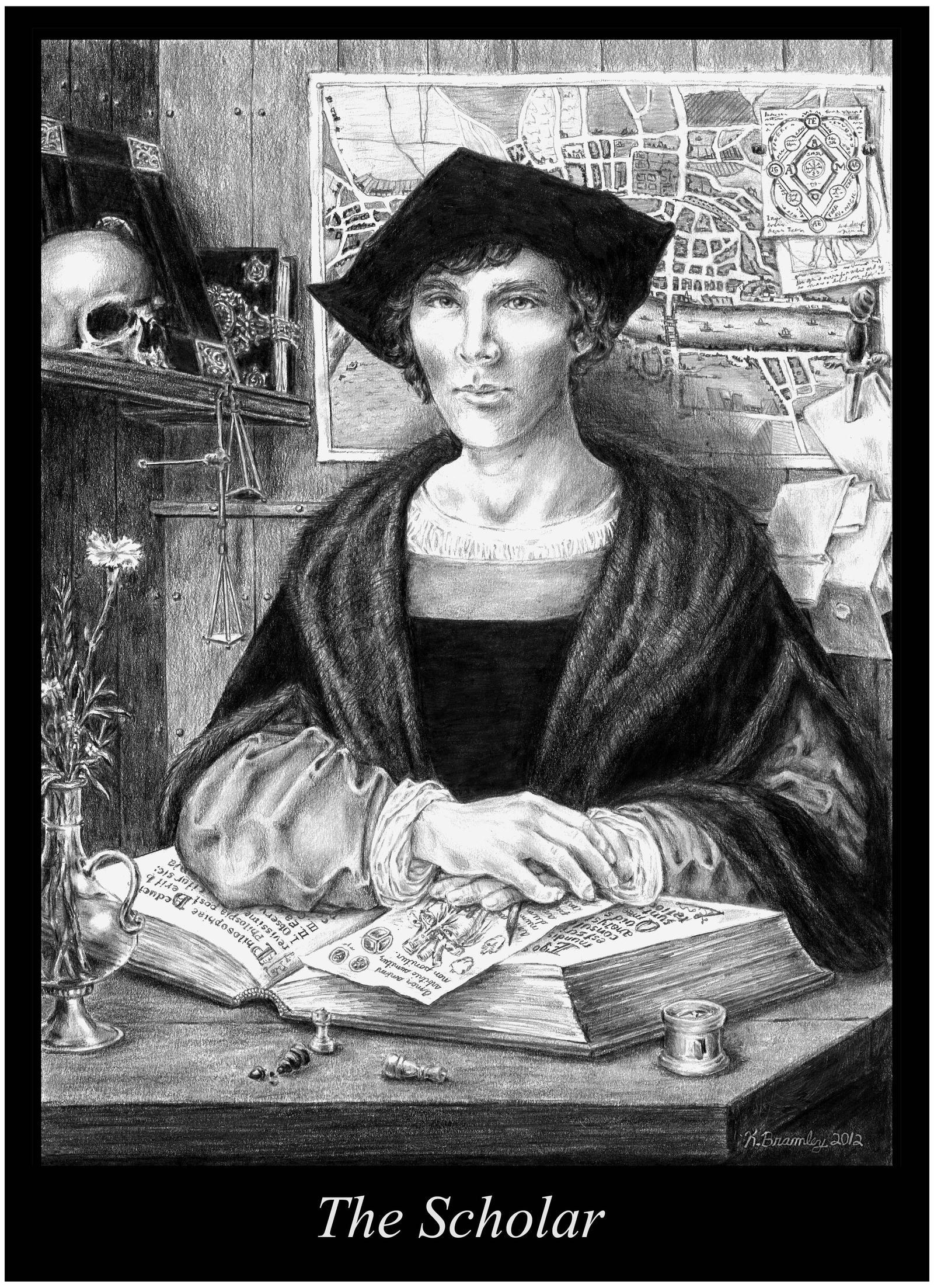The Scholar by crimsongriffin28