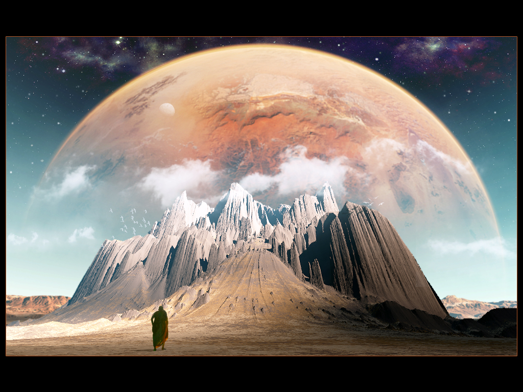 Lone pilgrim by Ni66le