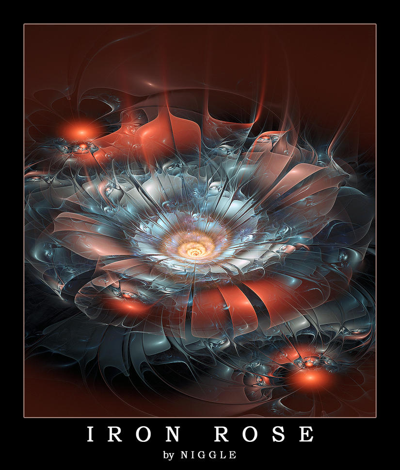 Iron Rose by Ni66le