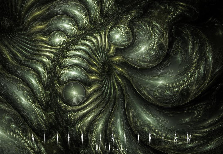 Alien daydream by Ni66le