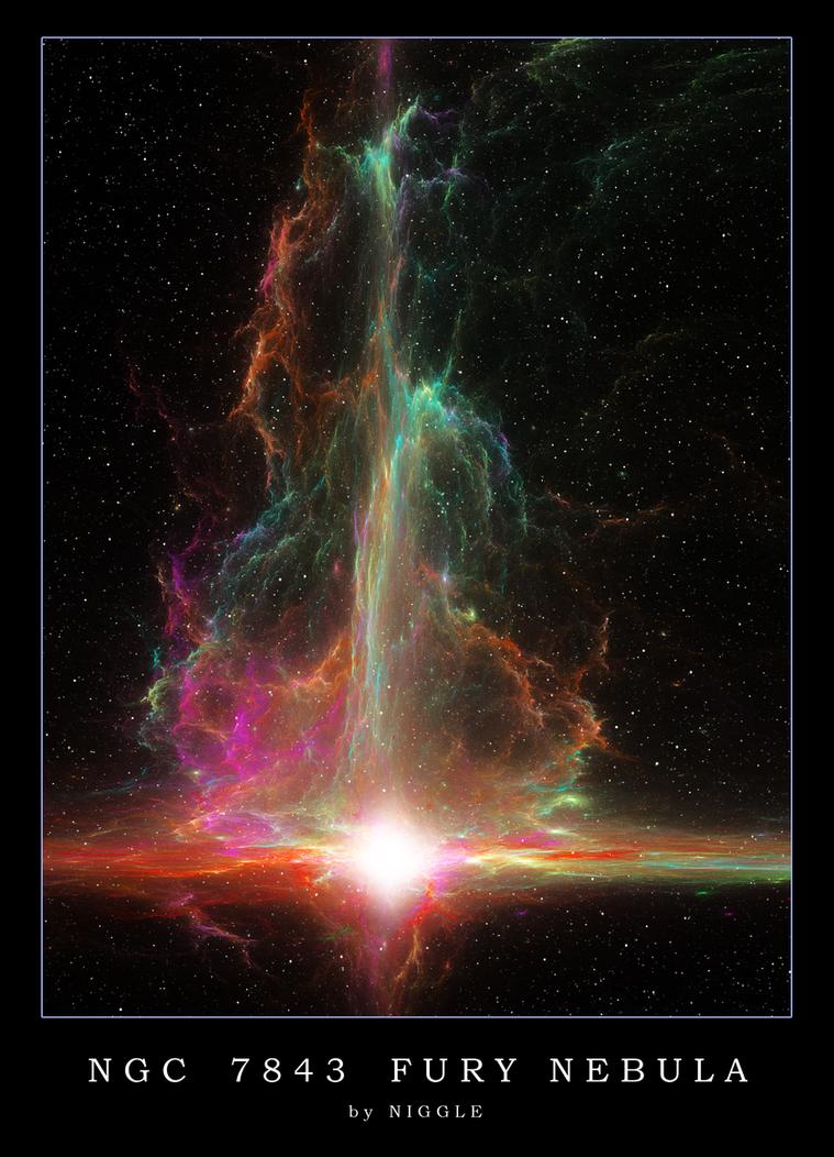 NGC 7843 FURY NEBULA by Ni66le