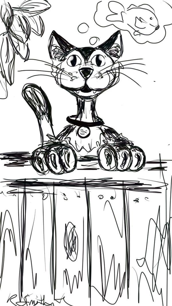 Surgie Cat by Rachel1972