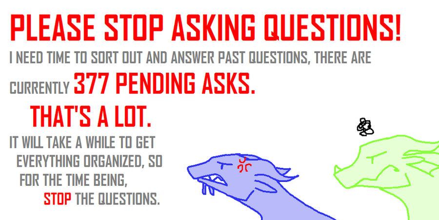ASK BOX IS CLOSED by Ask-the-Dragonets
