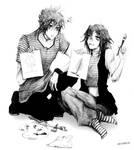 Commission: Feigo and Yuriko by Detoreik