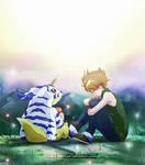 Digimon: Matt and Gabumon