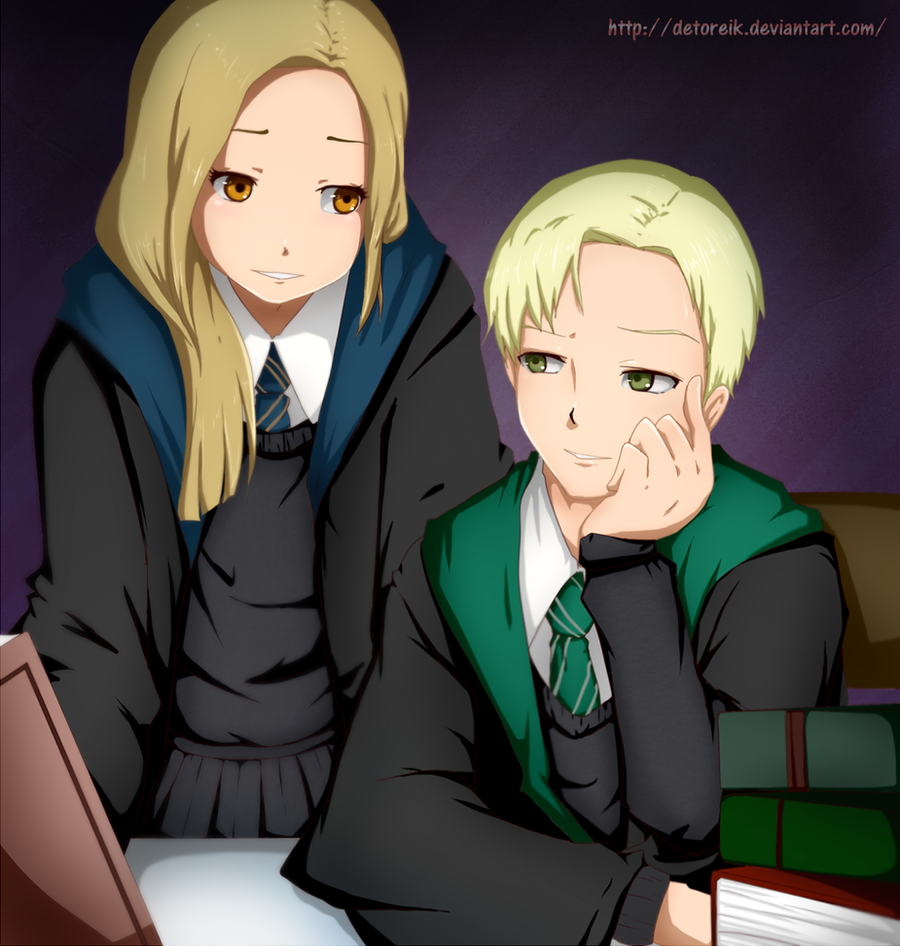 Anime Studying: Comm: Studying Together By Detoreik On DeviantArt
