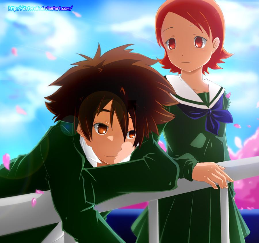 Comm: Tai and Sora by Detoreik