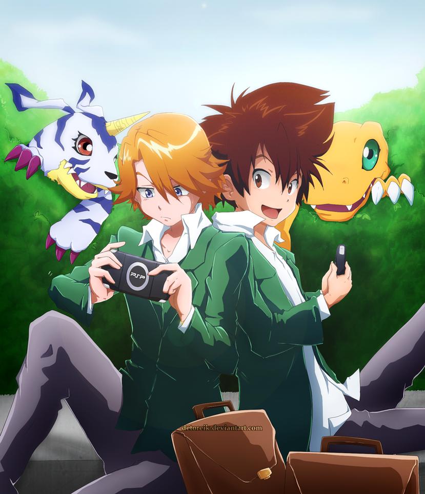 Digimon PSP by Detoreik