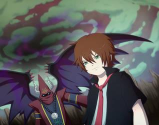 Kyle and Daemon by Detoreik