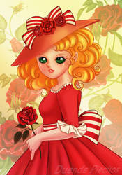 Red Rose by Duendepiecito