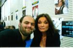 Me with Kate O'Mara