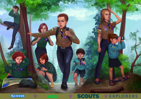 Join the Scout Association!