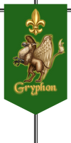 Gryphon patrol standard (vexillum)