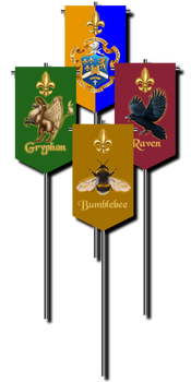 Scouting vexillum banners
