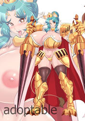 [Close] boob race series Fullarmor leo by kommankom