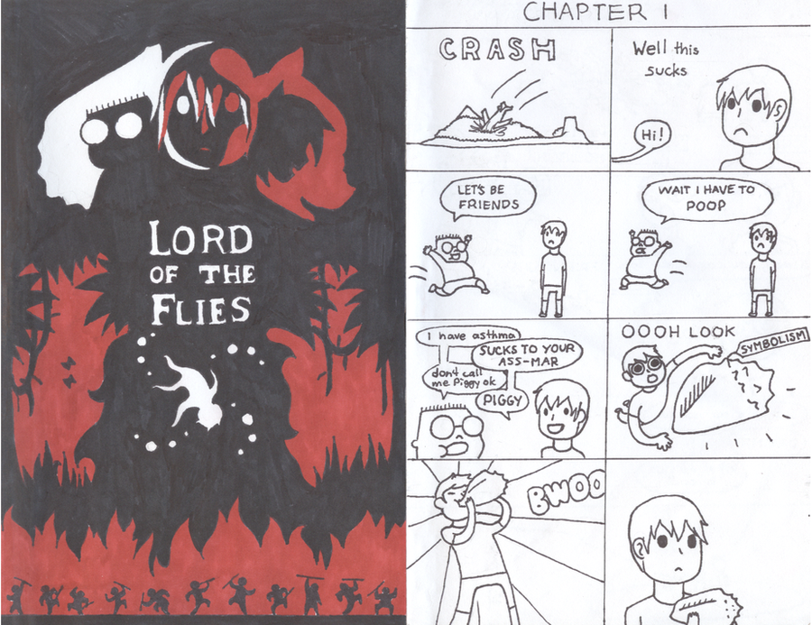 Lord Of The Flies By Gingerfishsticks On Deviantart