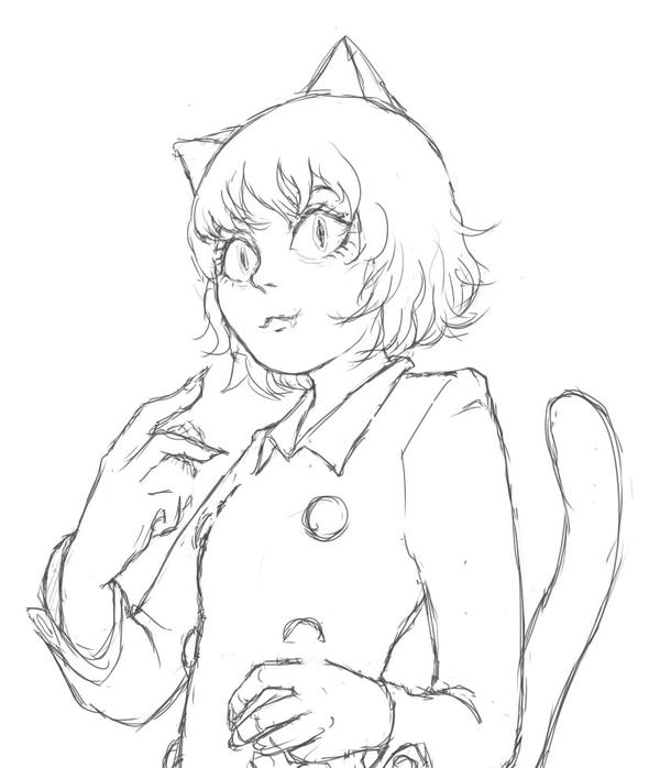 Pitou doodle by Cherriie-pops