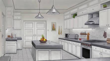 Kitchen Background Design