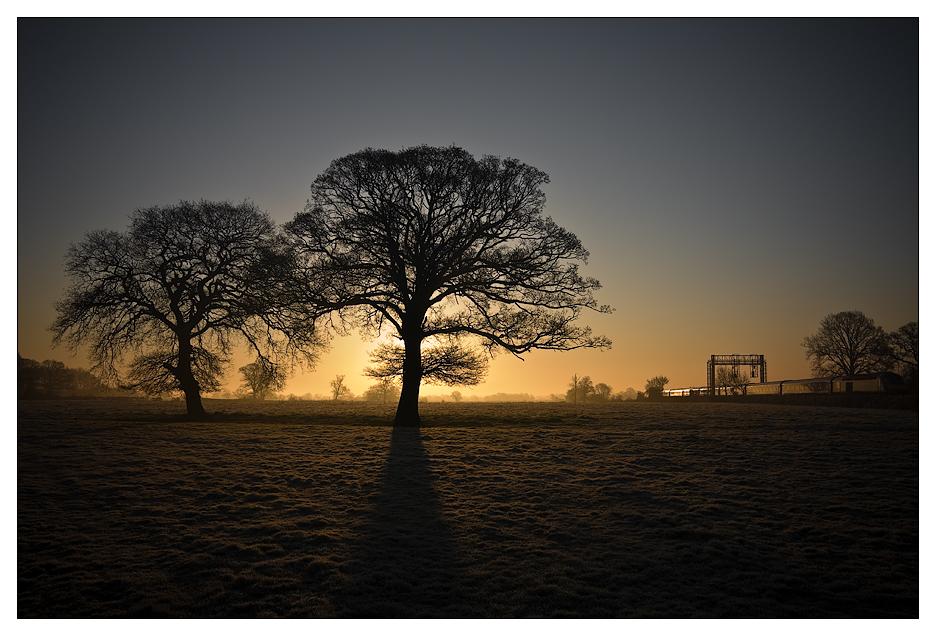 Baulking Sunrise 2 by PeteLatham
