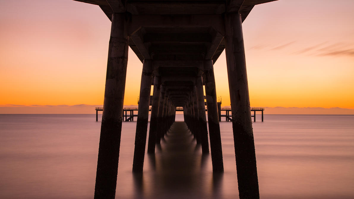 Symmetry Under The Pier (ws) by PeteLatham