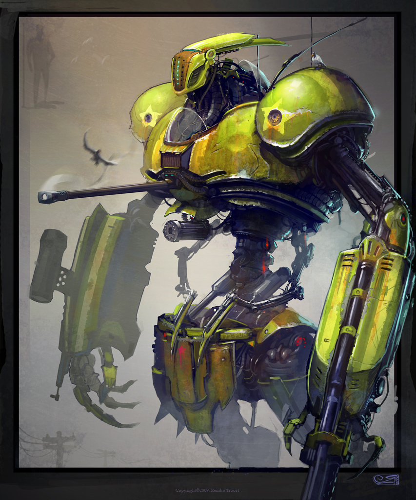 Dirty Bot by Okmer
