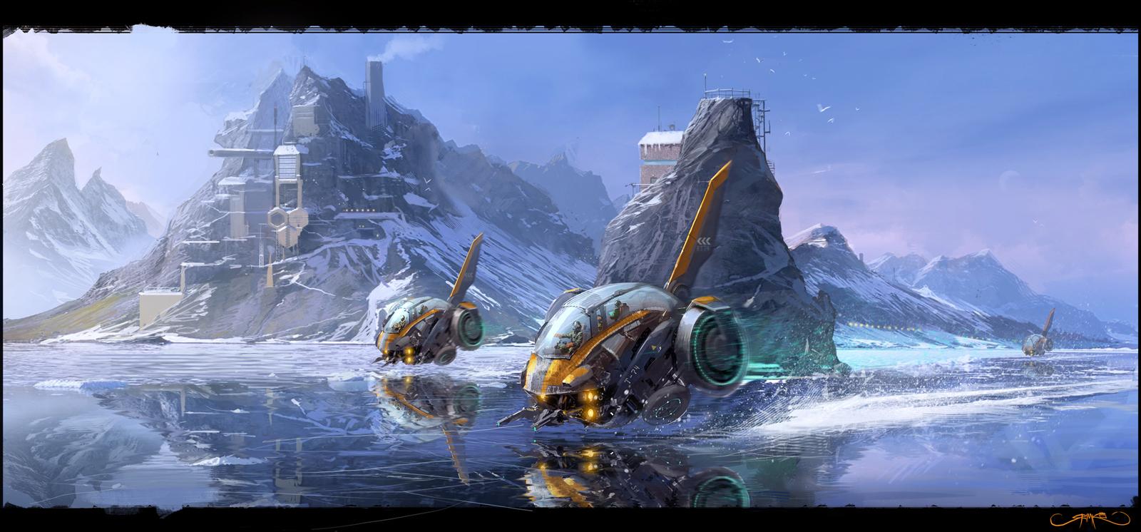 Iceracers by Okmer