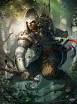 Cover ImagineFX N.89 , Assassin's Creed 3