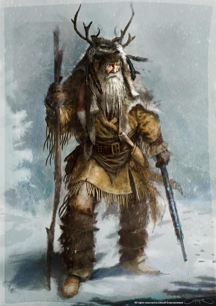 The Sasquatch by Okmer