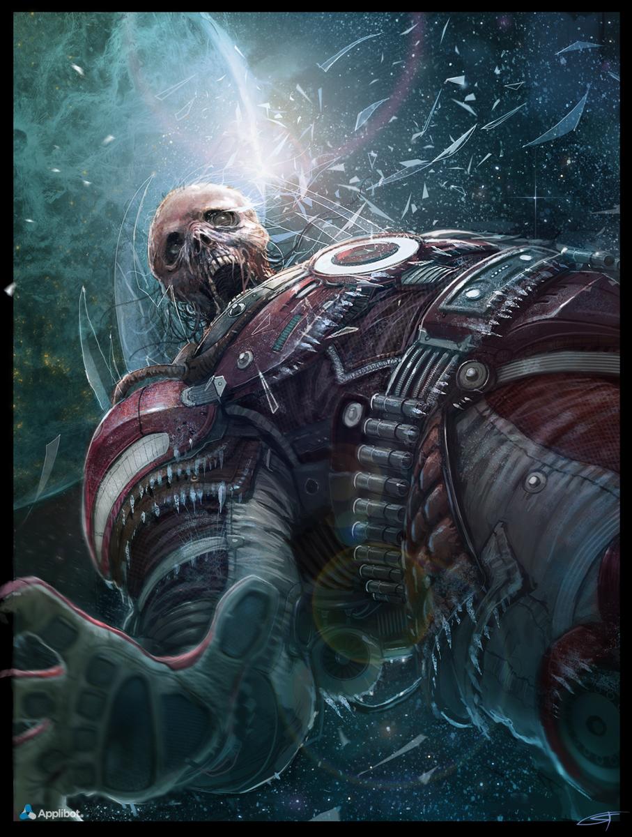 Dead Astronaut Regular Applibot by Okmer