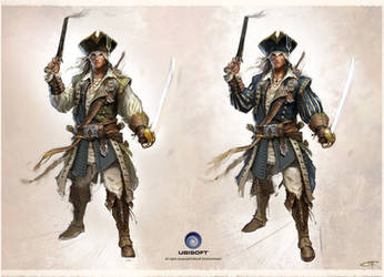 captain Kidd connor outfit by Okmer