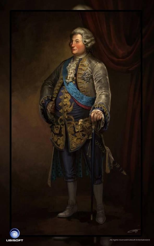Assassin's Creed Unity concept art.King Louis XVI by Okmer ...